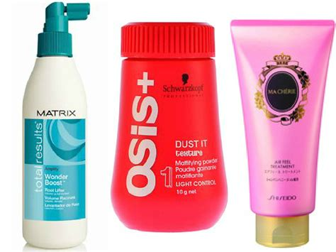asian hair products hair products which actually give volume to asian hair