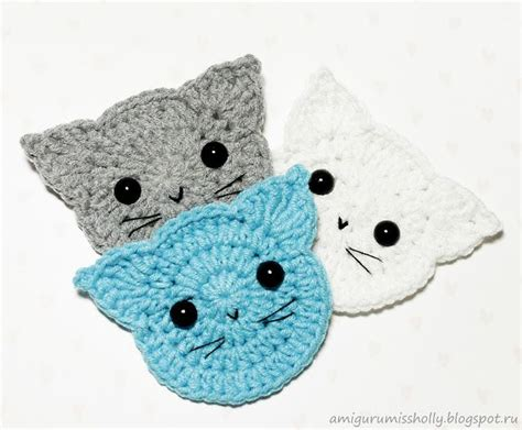 free patterns applique crochet crochet cats applique free pattern amigurumi free