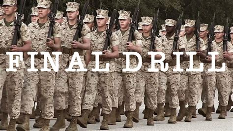 us marine corps boot c final test the crucible youtube final drill marine corps boot c