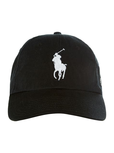 Golf Cap Black by Black Polo Cap