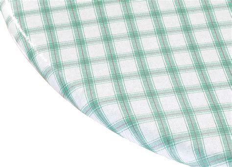 elasticized picnic table covers plaid elasticized vinyl table cover ebay