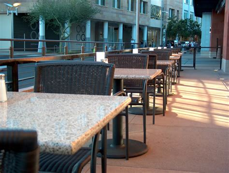 why is granite for outdoor restaurant tables