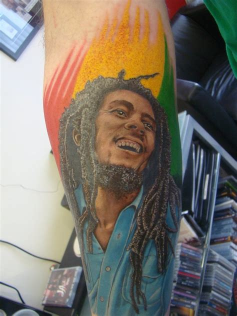 tattoo station ken patten bob marley by the station on