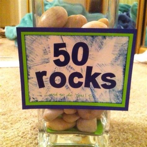 Bday Decorations At Home 50 rocks fun and creative 50th birthday party ideas