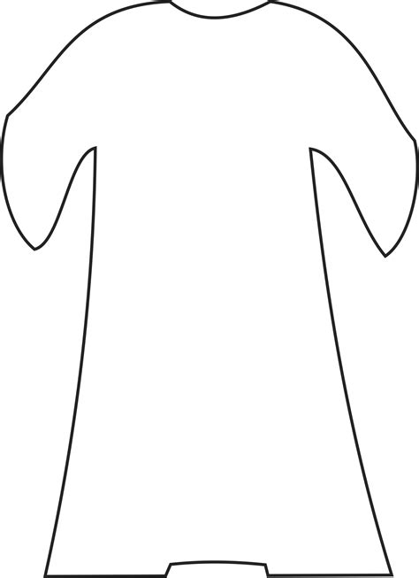 coat template my children s curriculum joseph s dreams sunday school