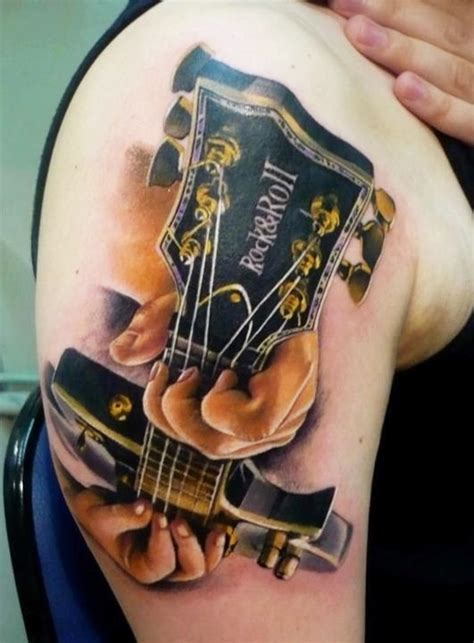 new tattoo acoustic chords 60 inspirational guitar tattoos nenuno creative