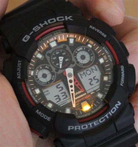 Casio G Shock Ga100 casio g shock x large combi ga100 review ablogtowatch
