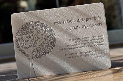 Hochzeitseinladungen Originell by Tag 187 Originelle Hochzeitseinladungen 171 Letterpress