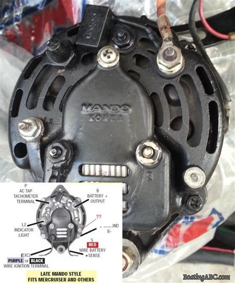 mando alternator wiring diagram 31 wiring diagram images