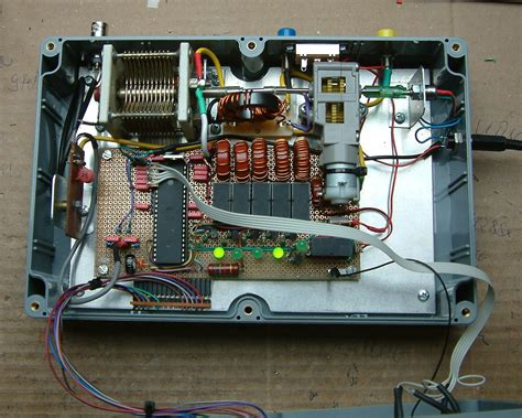 a semi automatic antenna tuner for qrp use radio engineering projects rachow