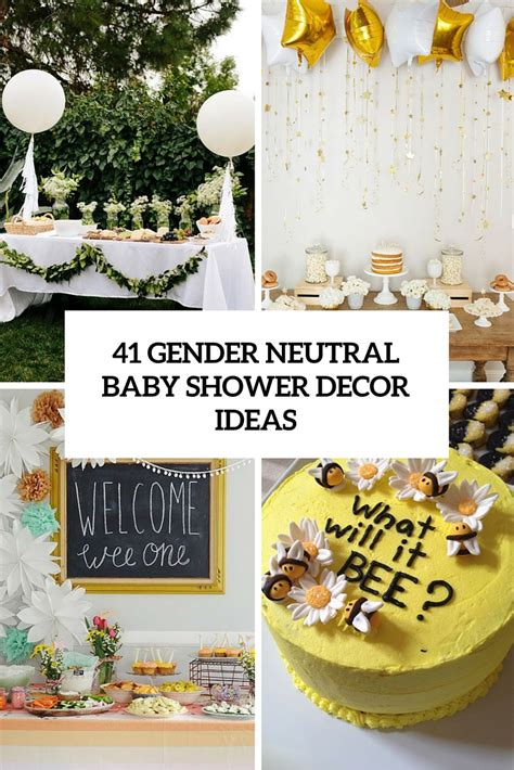 gender neutral baby shower gifts 41 gender neutral baby shower d 233 cor ideas that excite
