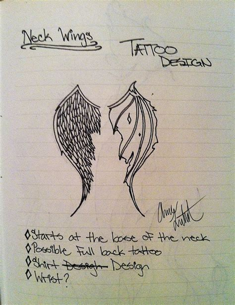 angel and devil wings tattoo designs wings images designs