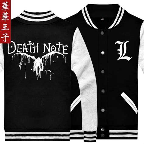 Jaket L Deathnote Limited achetez en gros note v 234 tements en ligne 224 des grossistes note v 234 tements chinois