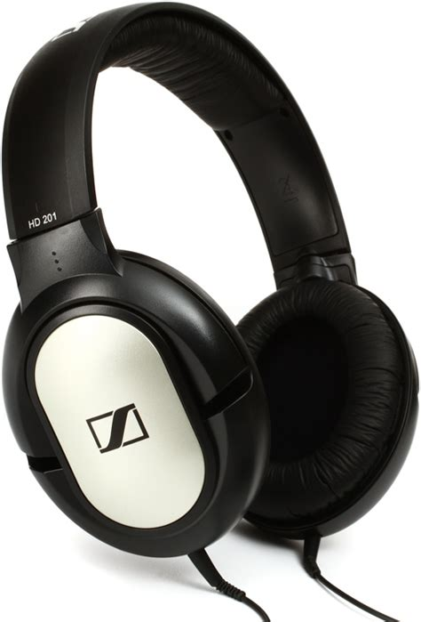 sennheiser hd 201 lightweight closed back ear