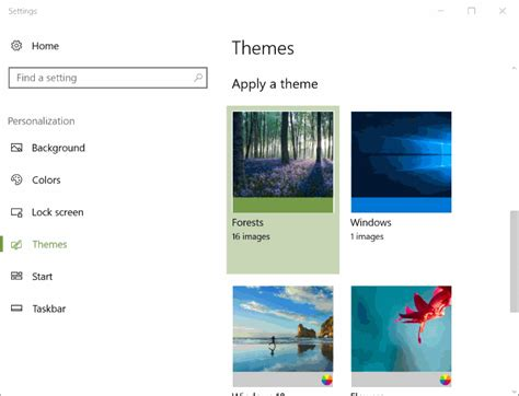 changing themes on windows 10 how to change themes in windows 10 creators update