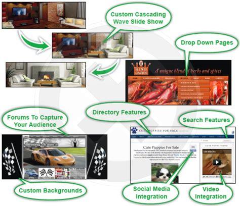 layout features of a website custom website design portland oregon