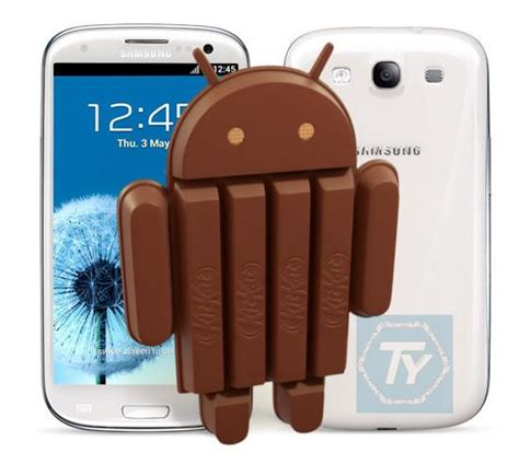 Samsung S3 Kitkat galaxy s3 con android kitkat grazie ad un porting