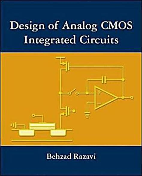 design of analog integrated circuits and systems sansen design of analog cmos integrated circuits buch portofrei