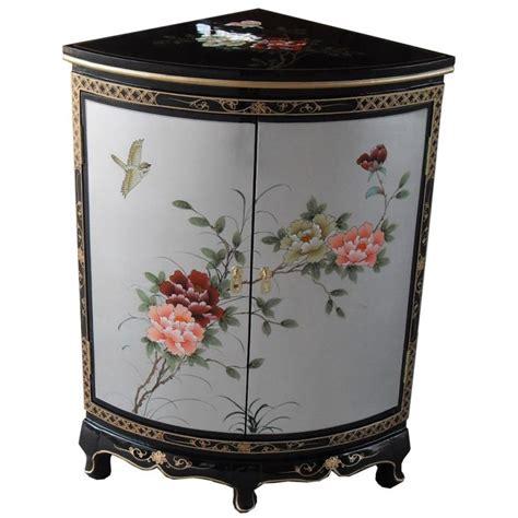 meuble tv en angle 1369 meuble d angle laqu 233 chinois meuble chinois laqu 233