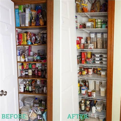 after new pantry organization system organization 112 best images about before after on pinterest closet