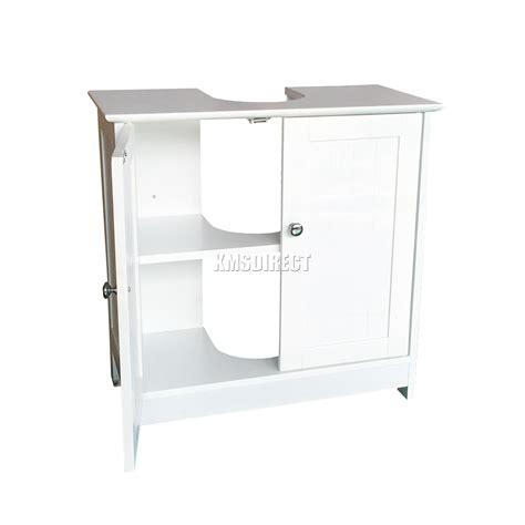 Flat Pack Bathroom Vanity Units Foxhunter Vanity Unit Wooden Wash Basin Bathroom Cabinet Storage Cupboard Ebay
