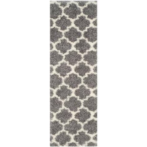 Pantofel Grey Ivory 2 safavieh retro grey ivory 2 ft 3 in x 9 ft runner ret2891 8012 29 the home depot