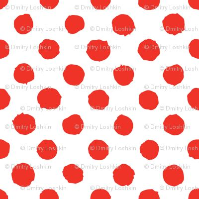 red dot pattern on back red polka dot on white grunge paint brush wallpaper