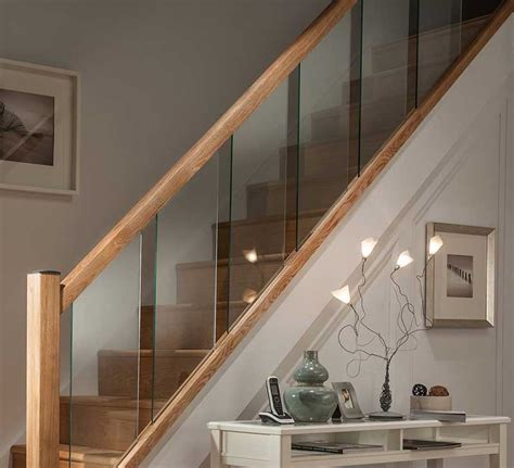 Modern Banister Ideas Glass Staircases Reflections Range By Cheshire Mouldings