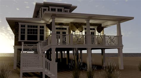 beach house plans pilings beach house plans pilings with porches all about house