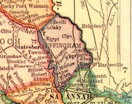 Effingham County Search Georgiainfo