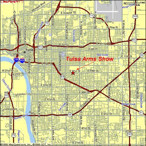 tulsa map tulsa map toursmaps