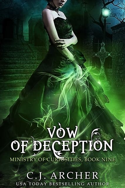 vow of deception ministry of curiosities books by karri