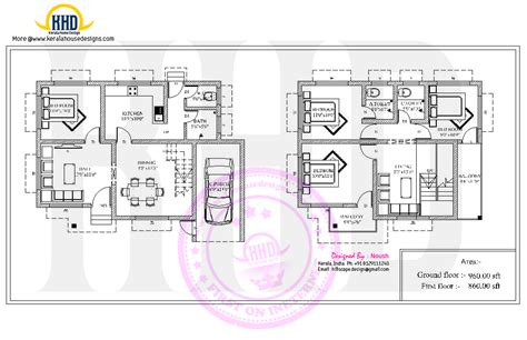 Beautiful Floor Plans beautiful villa floor plan kerala home design and floor
