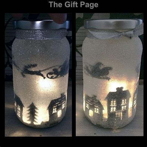 lights in a jar light mood lighting sitting in a jar