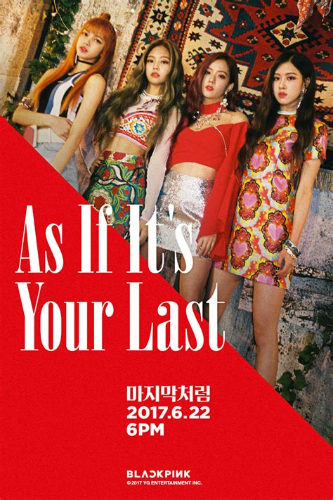 blackpink comeback november 2017 yg life blackpink 마지막처럼 as if it s your last