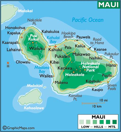 printable road map maui hawaii maui maps printable maps gt maui large color map hawaii