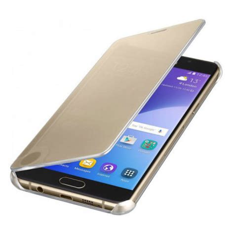 Official Clear Cover Casing Samsung Galaxy Note 5 N9200 Original official samsung galaxy a5 2016 clear view cover gold