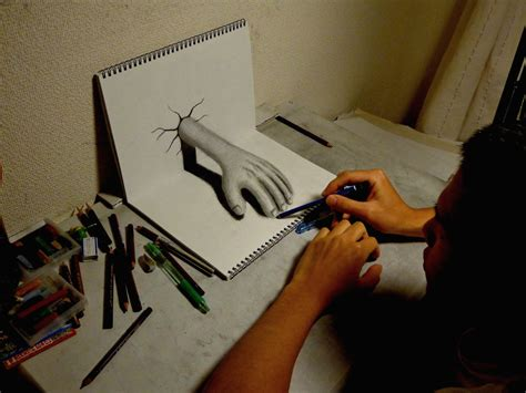 Drawing N 3d by 3d Drawing By Nagaihideyuki On Deviantart