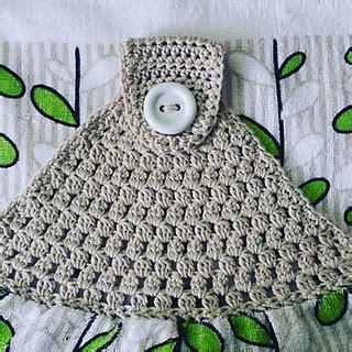 Crochet Kitchen Towel Topper by Ravelry Simple Towel Topper Pattern By Buttonnose Crochet