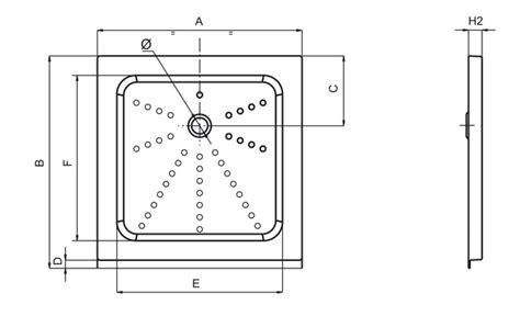 piatto doccia in plastica piatto doccia a cassetta h50 in plastica sanitari in