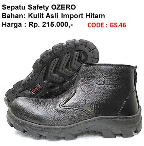 Sepatu Safety Cheetah 3110 H pabrik sepatu safety murah sni jual septu safety murah sni