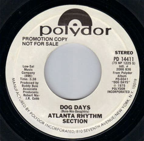 dog days atlanta rhythm section atlanta rhythm section dog days polydor 7 quot single vinyl