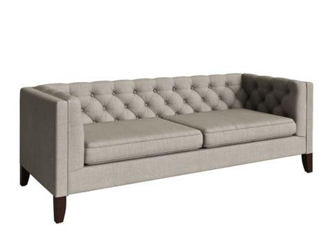 kendall fog sofa fog kendall sofa 3d modell