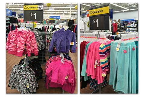 huge clothing clearance at walmart many items for 1 00