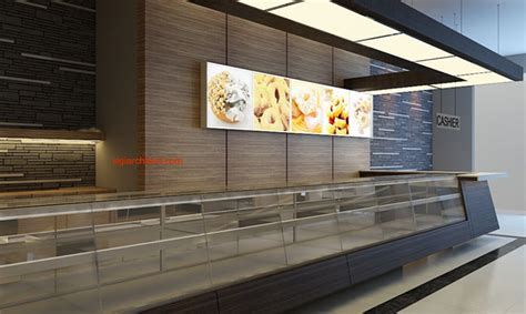 Layout Toko Roti | desain toko roti cafe interior minimalis