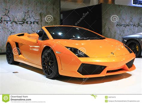 Lamborghini Price In Thailand Lamborghini Aventador Sport Car Bangkok Auto Salon