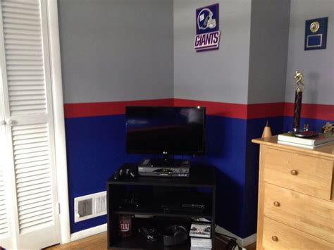 ny giants bedroom 19 best new york giants room wo man cave images on