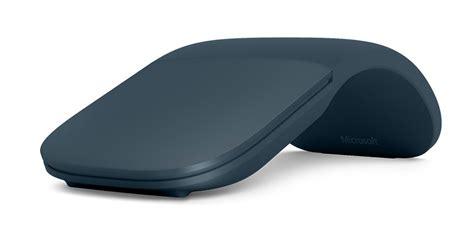 Microsoft Surface Mouse 2017 New Arc Mouse Warna Cobalt Blue microsoft pr 233 sente sa nouvelle souris surface arc mouse