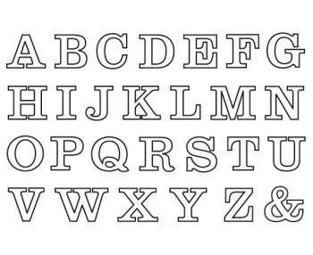 Buchstaben Drucken by Buchstaben Zum Ausdrucken Colouring Pages