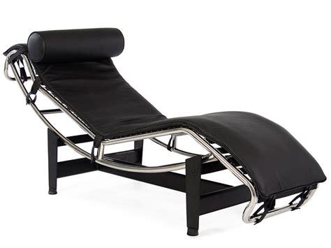 lc4 chaise longue noir